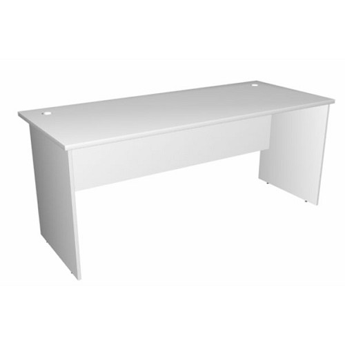 computer office desks. SPAZIO Office Desk [WT-1400] - Light Grey Computer Desks